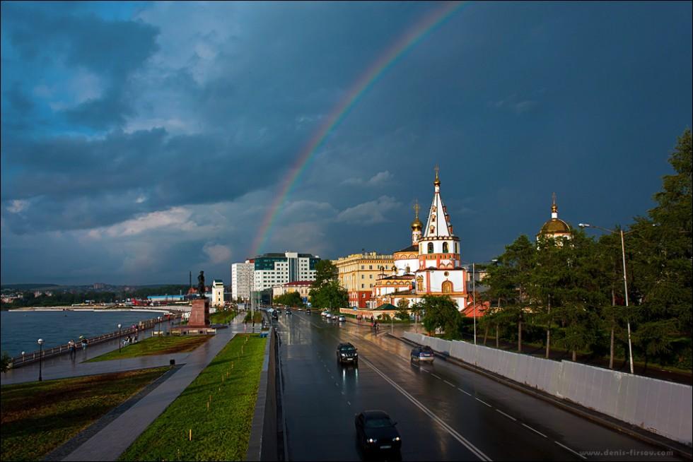 Нижняя Набережная в Иркутске