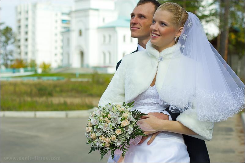 Венчание в храме Ангарска