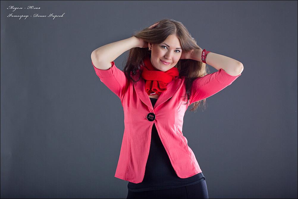 Фотосессия для девушки в Ангарске