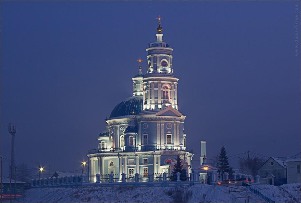 Церковь Казанской божьей матери в п. Тельма