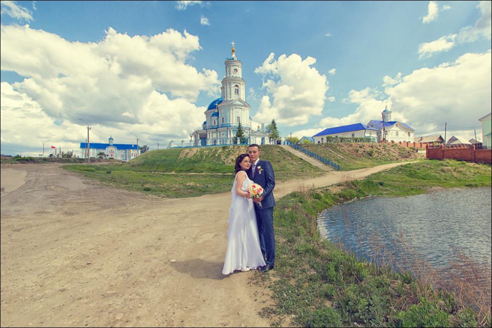 Свадебная фотосессия в Тельме