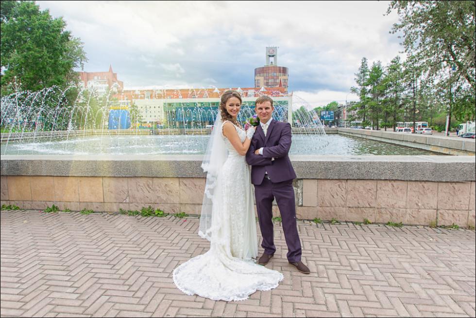 свадебная фотосессия в Иркутске
