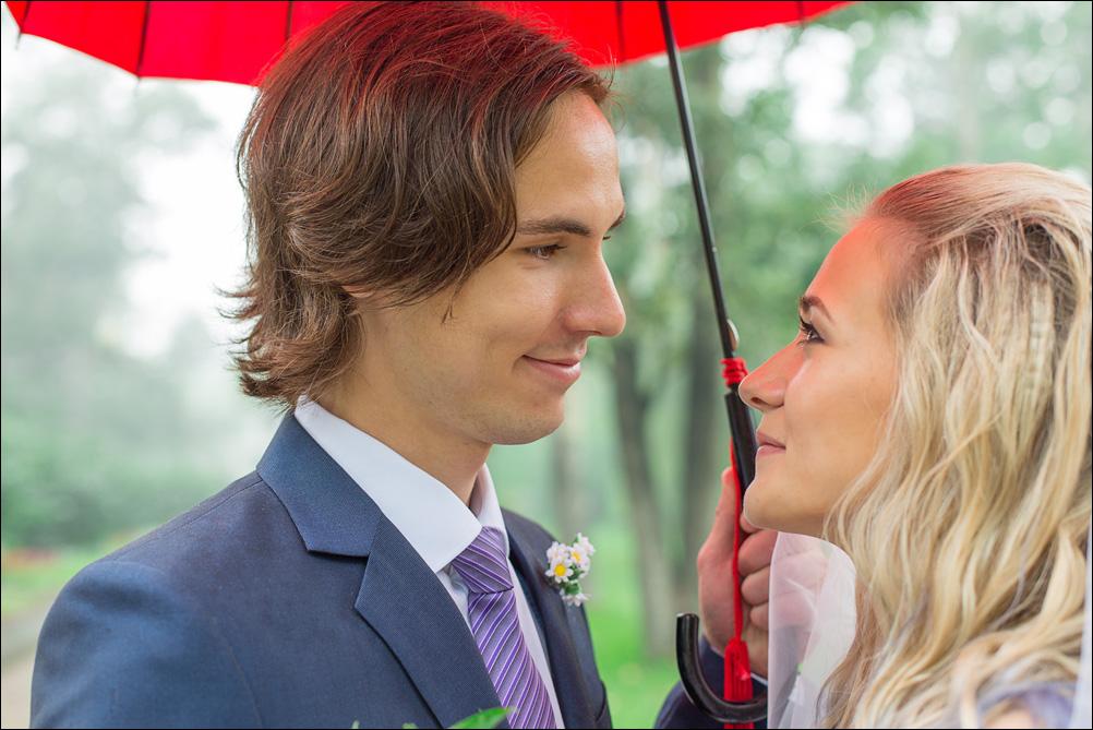 свадьба в дождь Ангарск