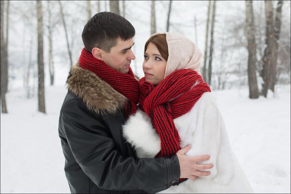 свадьба в Иркутске зимой фотограф