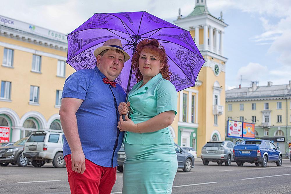 Фотосессия на годовщину свадьбы в Ангарске