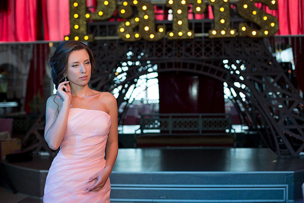 фотосессия в ресторане Париж