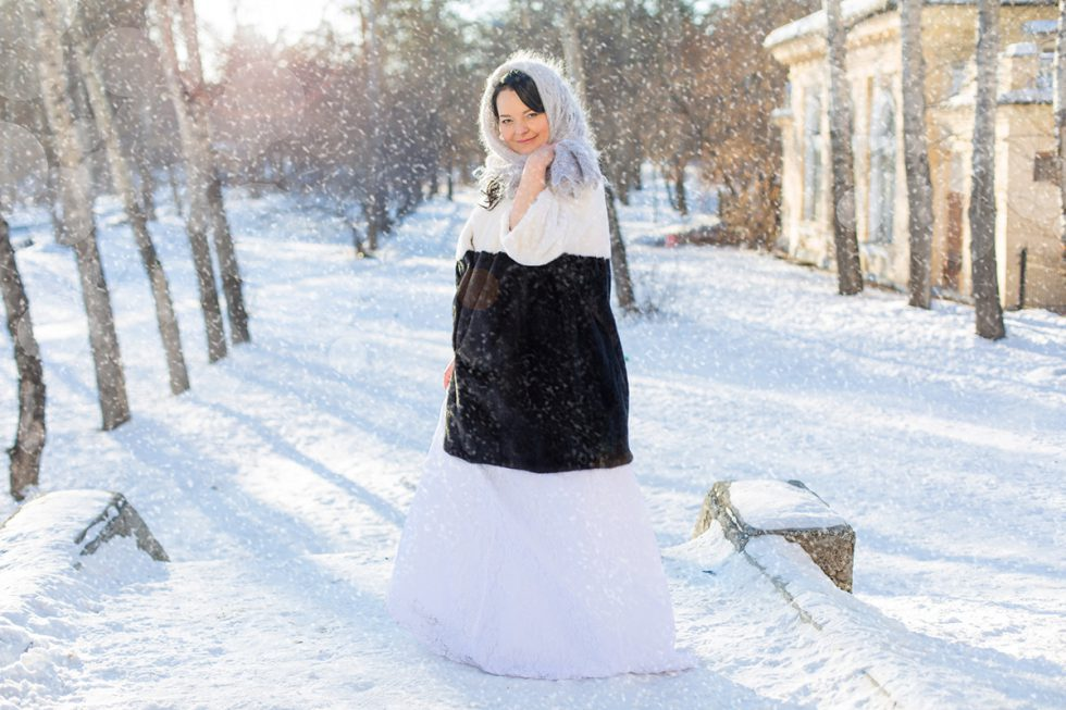 Февральская свадебная фотосессия в Ангарске