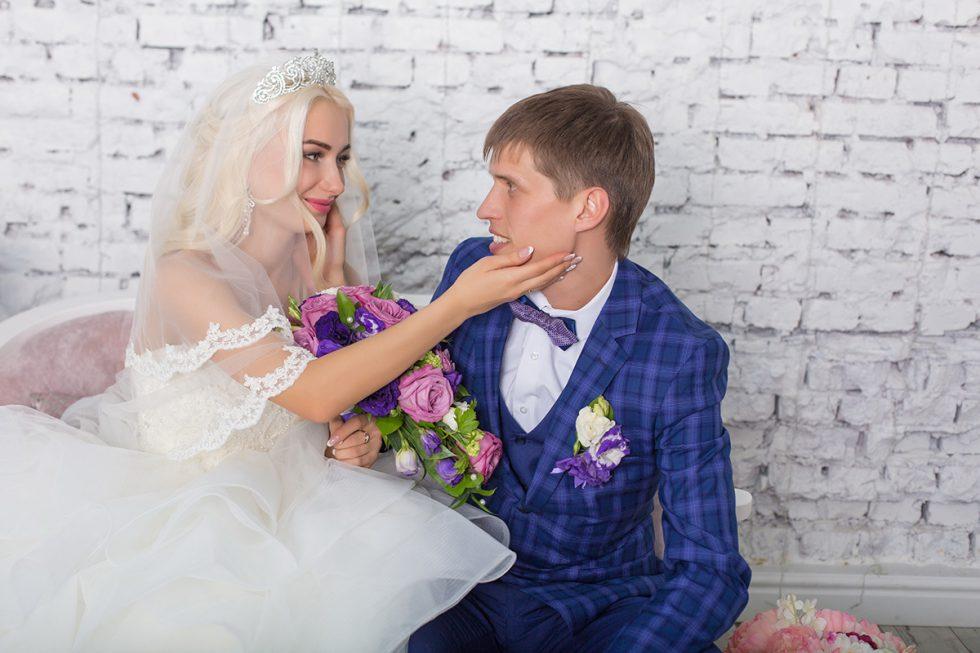 свадебная фотосессия в Меджик студии Ангарск