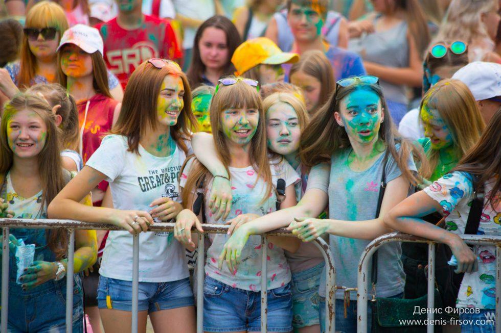Фестиваль красок Ангарск
