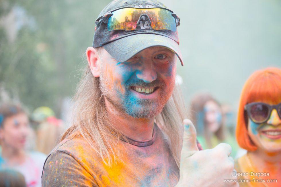 Фестиваль красок в Ангарске
