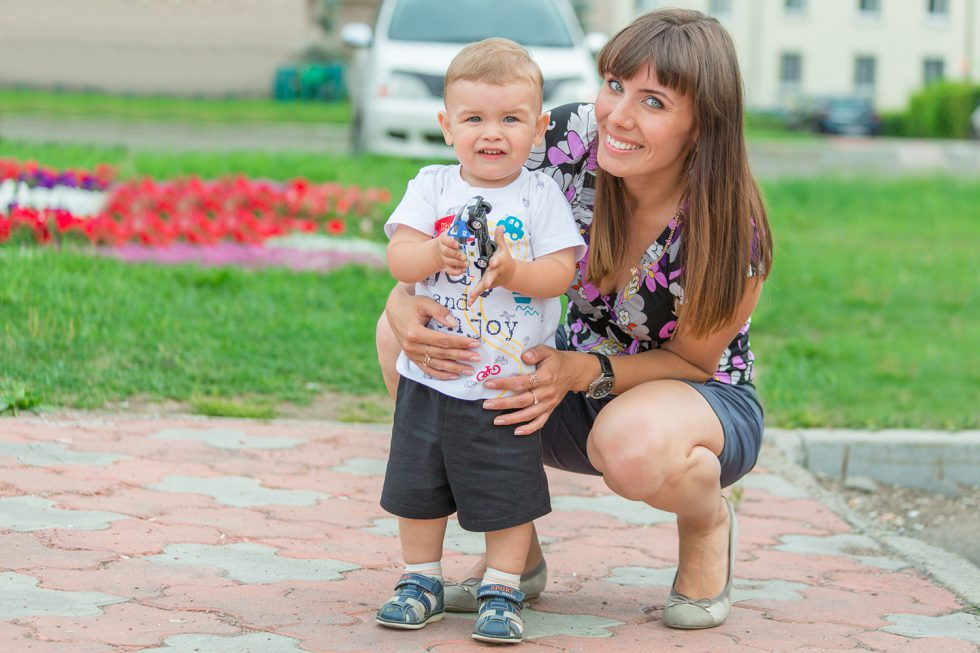 Фотосессия в парке Нефтехимиков, Ангарск