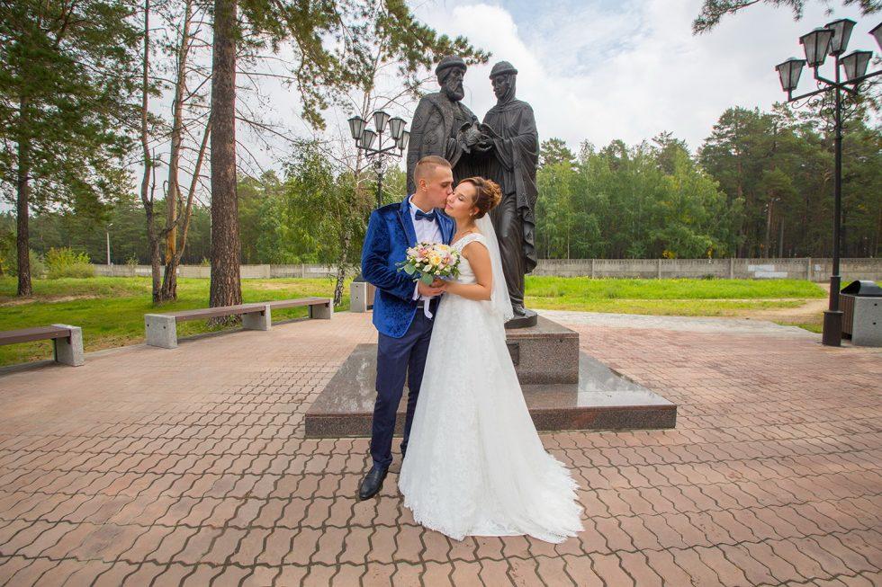 Осенняя свадебная фотосессия в Ангарске