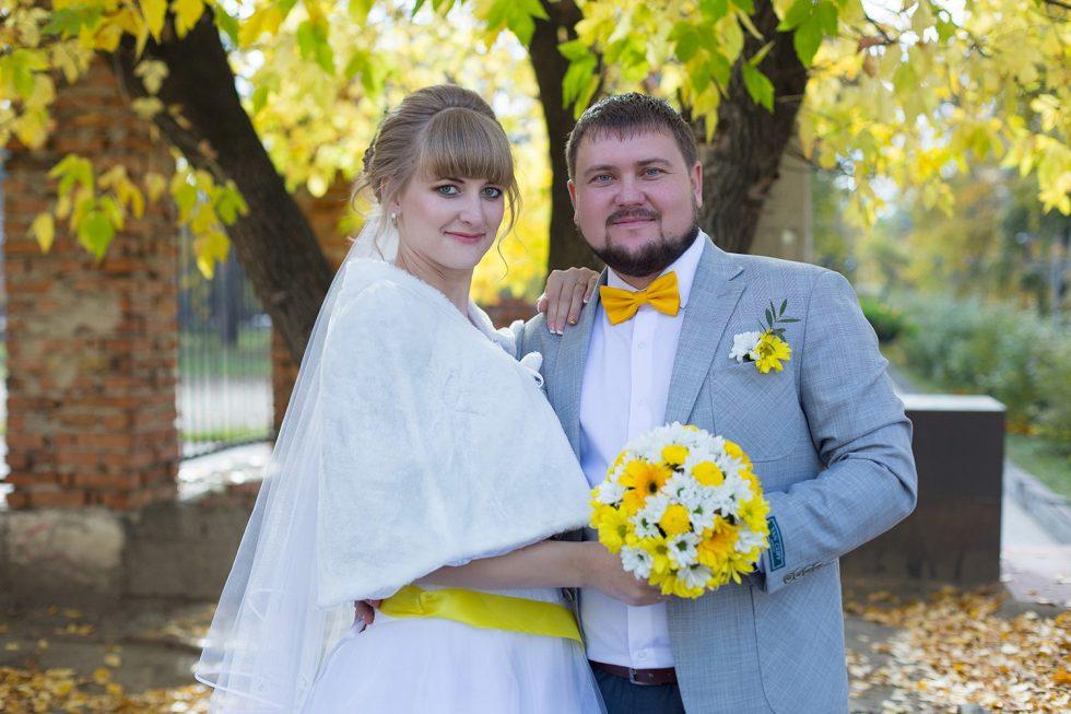 весенняя свадьба в Ангарске