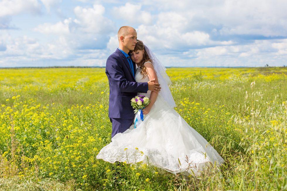 свадебная фотосъемка в Тельме