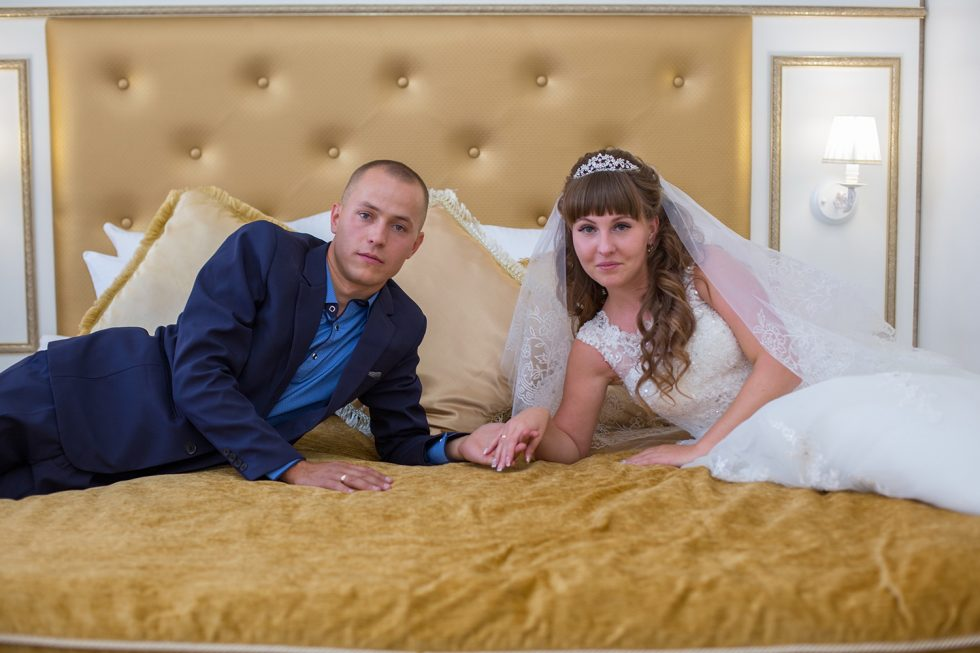 свадебная фотосъемка в отеле Пушкин Ангарск